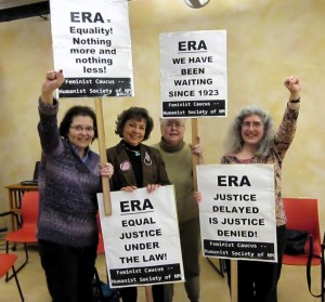 ERA Rally in Santa Fe, Spring 2013